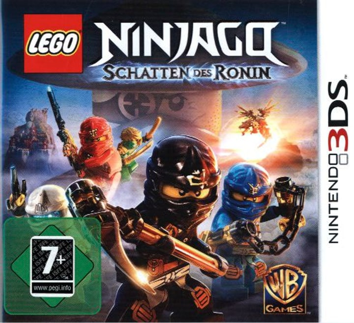 3DS - LEGO Ninjago: Schatten des Ronin 785300121563 Photo no. 1