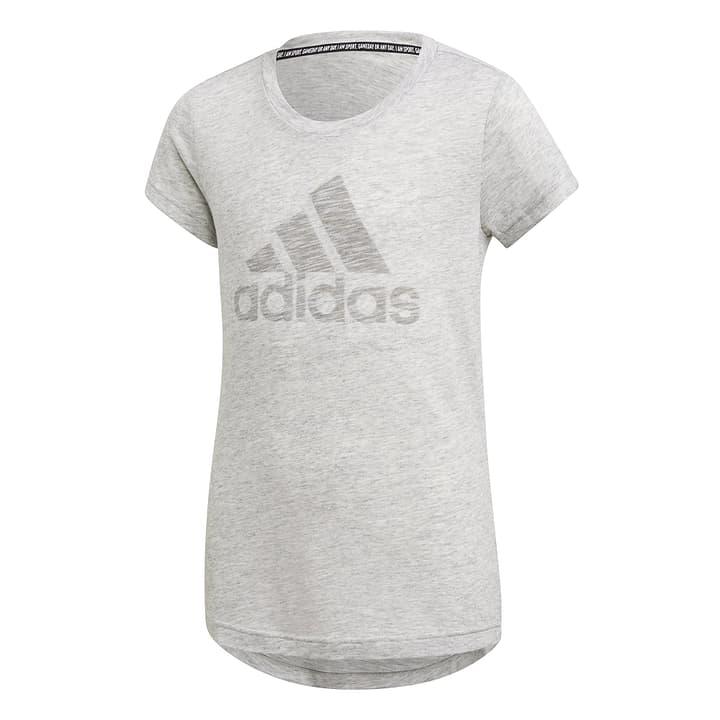 MUST HAVES TEE Mädchen-T-Shirt Adidas 466963114010 Farbe weiss Grösse 140 Bild-Nr. 1