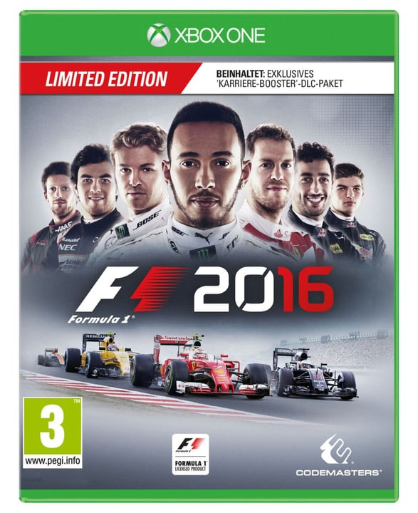 Xbox One - F1 2016 (Limited Edition) 785300121164 Photo no. 1