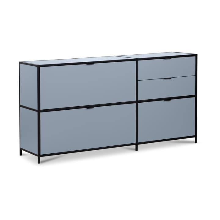 SEVEN Sideboard Edition Interio 360974600000 Grösse B: 155.0 cm x T: 38.0 cm x H: 80.0 cm Farbe Blau Bild Nr. 1
