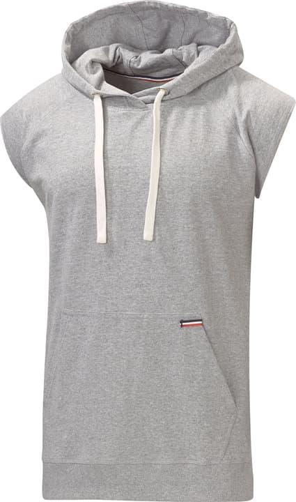 Hoody short sleeves Sweat-shirt à capuche pour homme Extend 462387200380 Couleur gris Taille S Photo no. 1