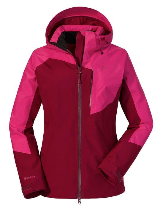 Jacket Lauca Veste pour femme Schöffel 465739103888 Couleur bordeaux Taille 38 Photo no. 1