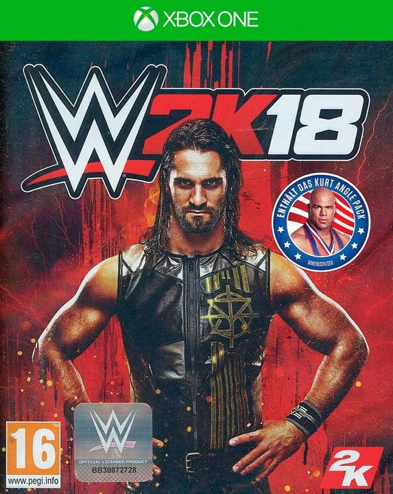 Xbox One - WWE 2K18 Physisch (Box) 785300129172 Bild Nr. 1