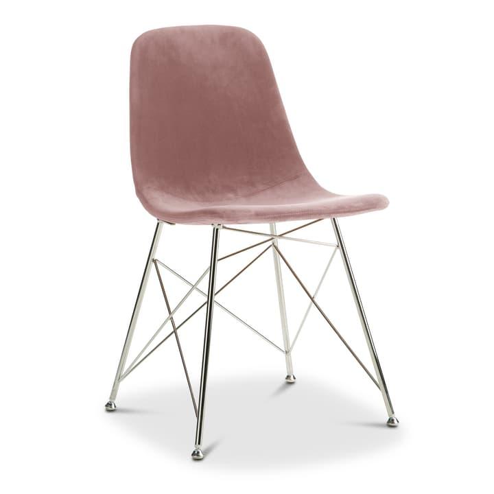 SEDIA Chair 366170200000 Colore Rosa Dimensioni L: 45.0 cm x P: 41.5 cm x A: 84.5 cm N. figura 1