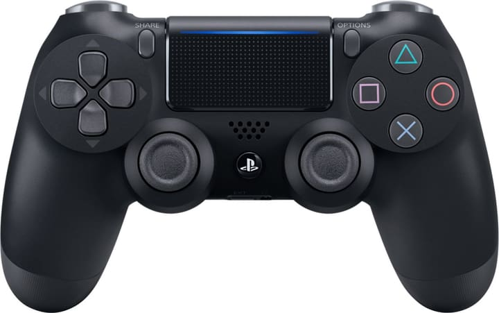 PS4 Wireless DualShock Controller v2 black Controller Sony 798070400000 N. figura 1