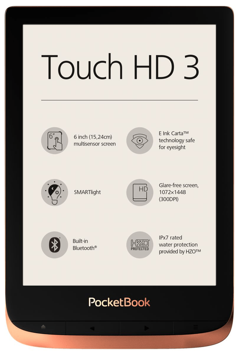 Touch HD 3 rosé eReader Pocketbook 785300150644 Photo no. 1