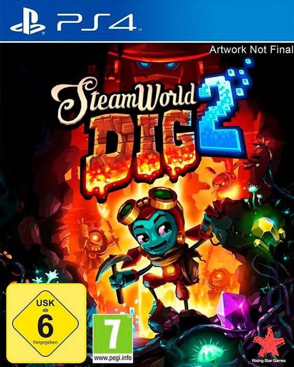 PS4 - Steamworld Dig 2 (I) Physisch (Box) 785300132730 Bild Nr. 1