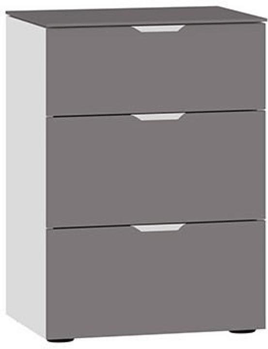 MODUL Kommode 404546800000 Grösse B: 45.0 cm x T: 43.0 cm x H: 65.0 cm Farbe Dunkelgrau Bild Nr. 1