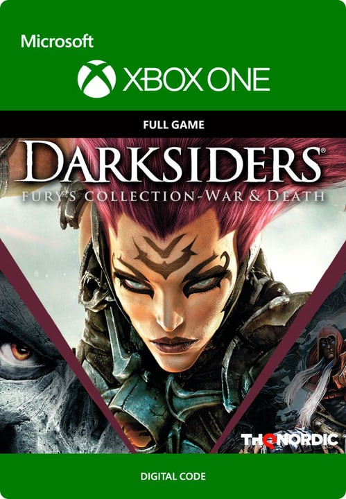 Xbox One - Darksiders Fury's Collection - War and Death Digitale (ESD) 785300135642 N. figura 1