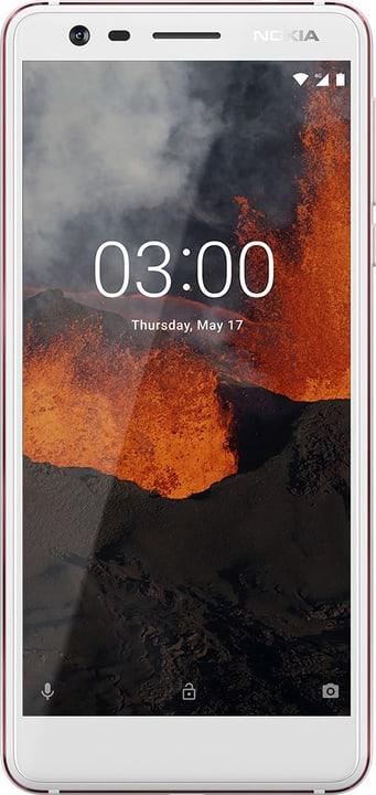 3.1 (2018) 16GB weiss Smartphone Nokia 794630300000 Bild Nr. 1
