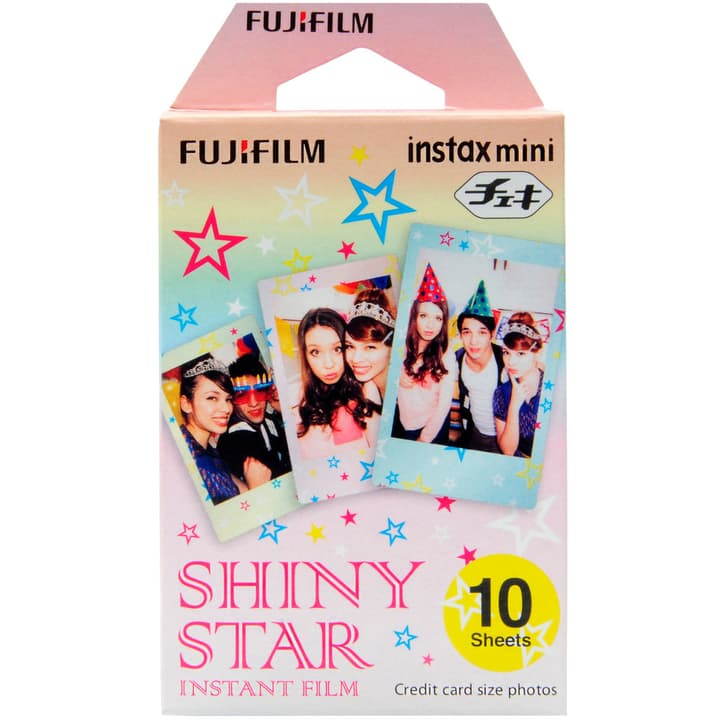 Instax Mini Shiny Star 1x10 FUJIFILM 793183300000 Photo no. 1