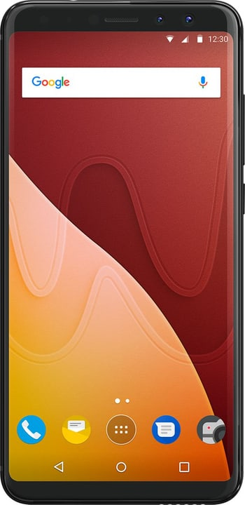 View Prime 64GB noir Smartphone Wiko 785300134340 Photo no. 1