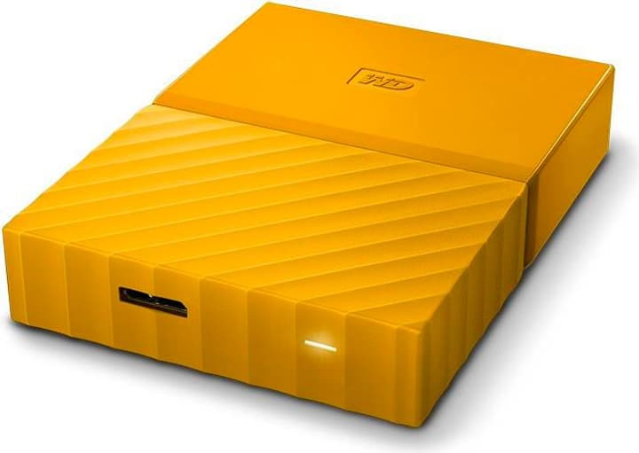 My Passport 4TB Disque externe 2.5'' jaune Disque Dur Externe HDD Western Digital 785300124411 Photo no. 1