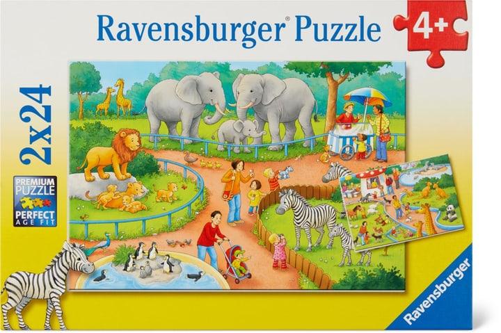 Un jour au zoo Ravensburger Puzzle 748975500000 Photo no. 1