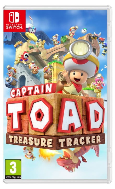 Switch - Captain Toad: Treasure Tracker (D) Box Nintendo 785300134074 Langue Allemand Plate-forme Nintendo Switch Photo no. 1