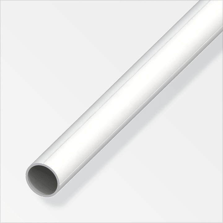 Tube rond 23.5 x 1 mm PVC blanc 1 m alfer 605119700000 Photo no. 1