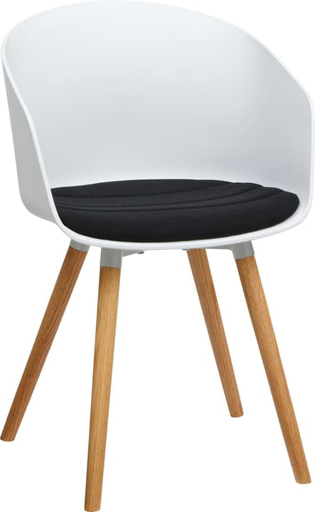 BRERA Stuhl 402398400000 Grösse B: 51.0 cm x T: 51.5 cm x H: 81.0 cm Farbe Schwarz Bild Nr. 1