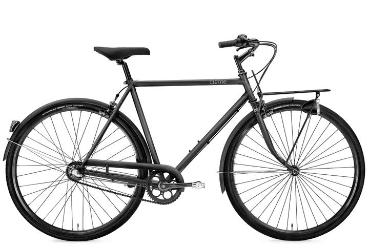 "Caferacer Solo Man 28"" Citybike Creme 463325605520 Rahmengrösse 55 Farbe schwarz Bild Nr. 1"