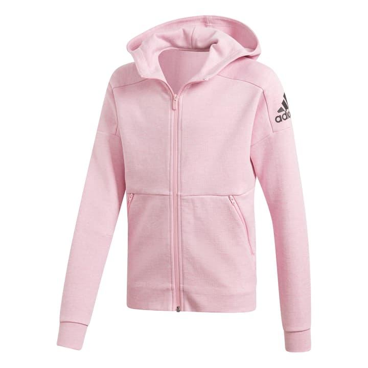 ID Stadium Hooded Tracktop Mädchen-Kapuzenjacke Adidas 464598212838 Farbe rosa Grösse 128 Bild-Nr. 1