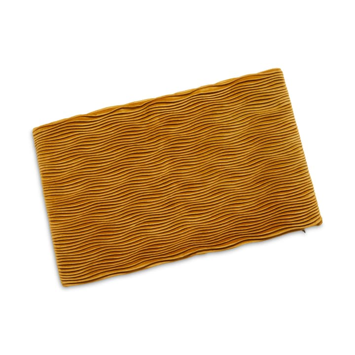 GINGER Housse de coussin décoratif 378189040350 Dimensions L: 50.0 cm x H: 30.0 cm Couleur Jaune Photo no. 1