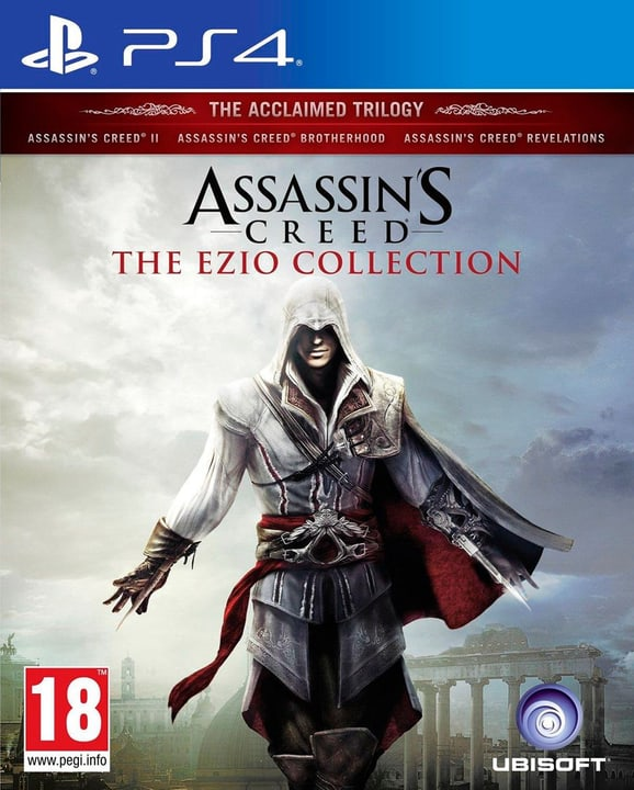 PS4 - Assassin's Creed The Ezio Collection 785300121468 Bild Nr. 1