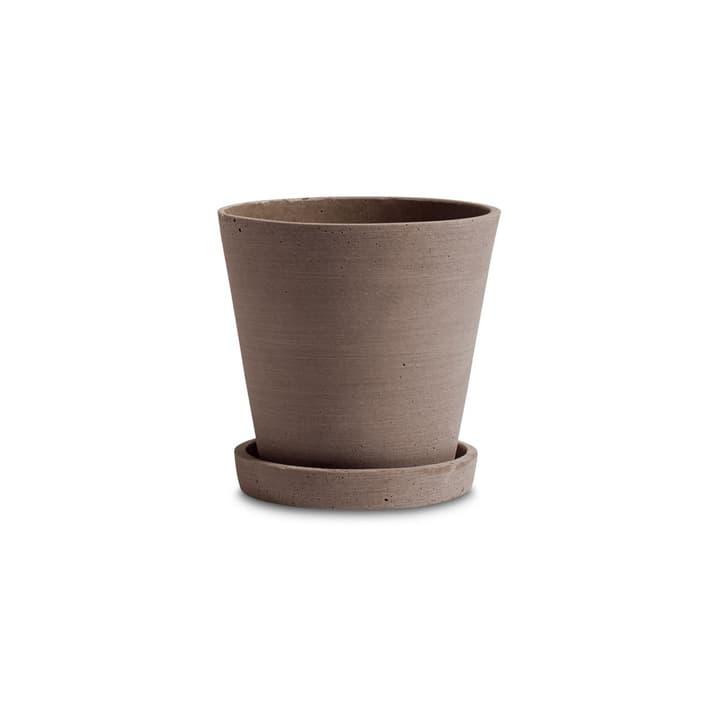 FLOWER POT / M Cache-pot HAY 382075400000 Dimensions H: 13.5 cm Couleur Terracotta Photo no. 1