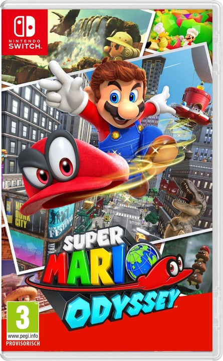 NSW - Super Mario Odyssey (I) Box Nintendo 785300128758 Langue Italien Plate-forme Nintendo Switch Photo no. 1