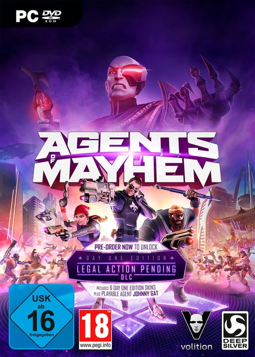 PC - Agents of Mayhem Day One Edition Physique (Box) 785300122599 Photo no. 1