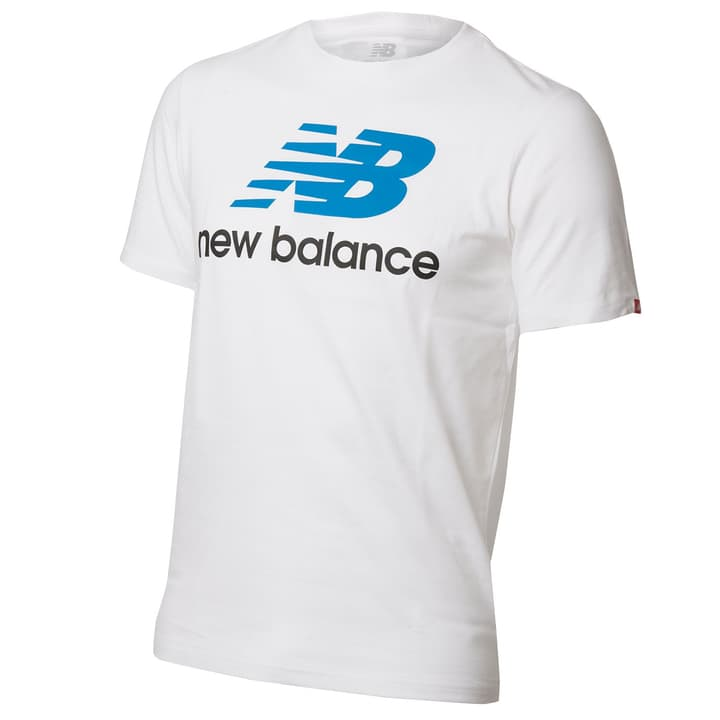 Essentials Stacked Logo Tee T-shirt pour homme New Balance 462383300610 Couleur blanc Taille XL Photo no. 1