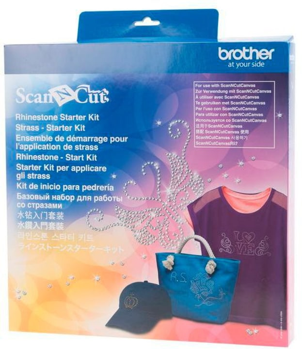 Kit pour l'application de strass Brother 785300142662 N. figura 1