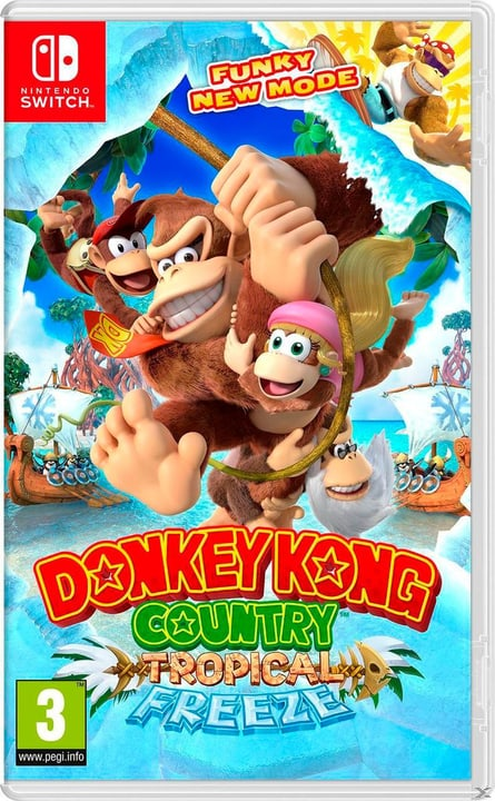 Switch - Donkey Kong Country: Tropical Freeze (D) Box 785300132495 Photo no. 1