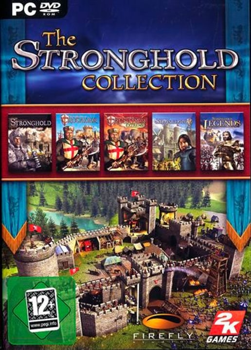PC - Pyramide: Stronghold Collection Fisico (Box) 785300121612 N. figura 1