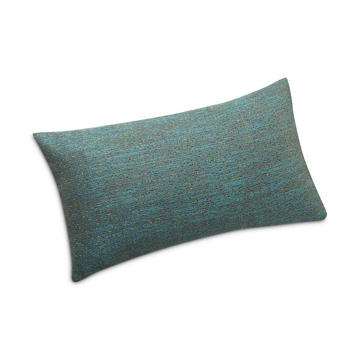 NISSA Coussin décoratif 378156000000 Dimensions L: 30.0 cm x P: 50.0 cm Couleur Turquoise Photo no. 1