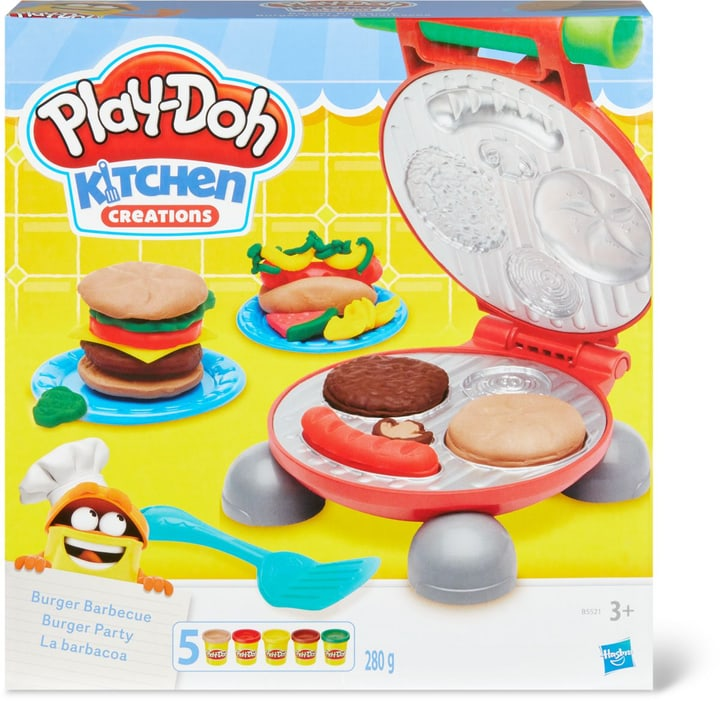 Play-Doh Burger Party Jouet 746119900000 Photo no. 1