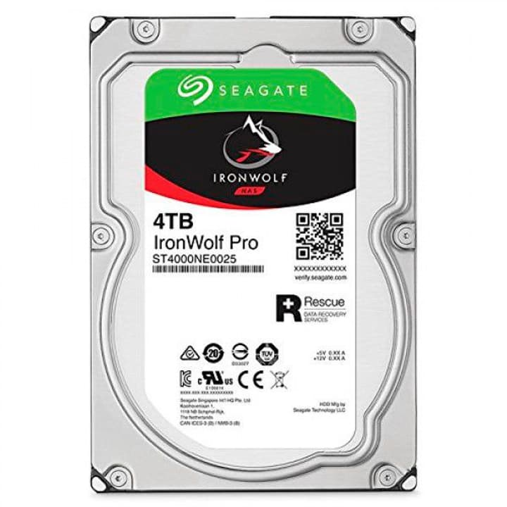 "IronWolf PRO 4To disque dur interne SATA 3.5"" HDD NAS Seagate 785300126750 Photo no. 1"