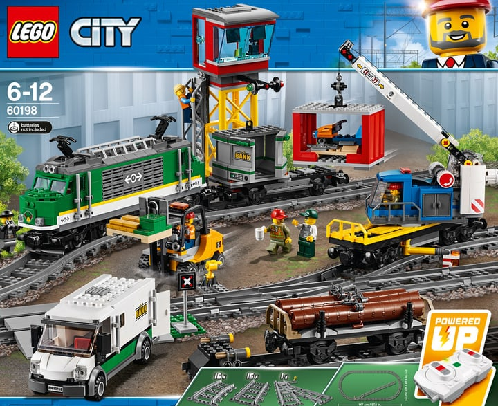 Lego City Treno merci 60198 744555600000 N. figura 1