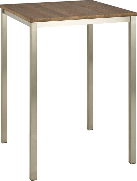 ALEXIS II Table de bar 402399115003 Couleur Chêne foncé Dimensions L: 80.0 cm x P: 80.0 cm x H: 110.0 cm Photo no. 1