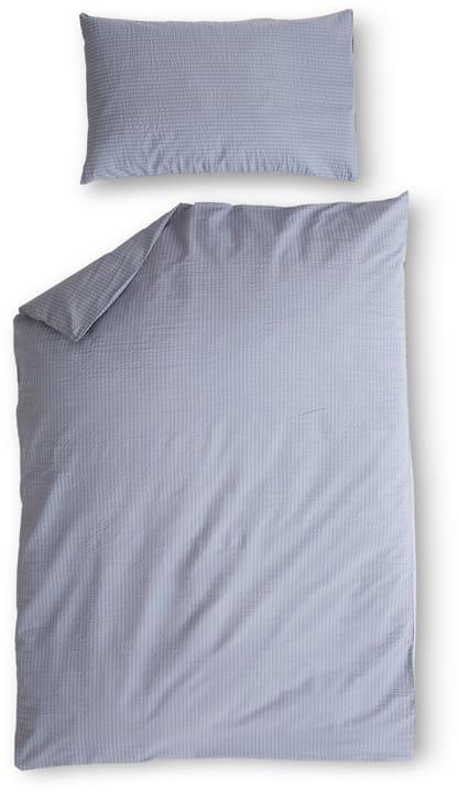 DAMIAN Garnitura da letto seersucker 451260114437 Colore Grigio Dimensioni L: 160.0 cm x A: 210.0 cm N. figura 1