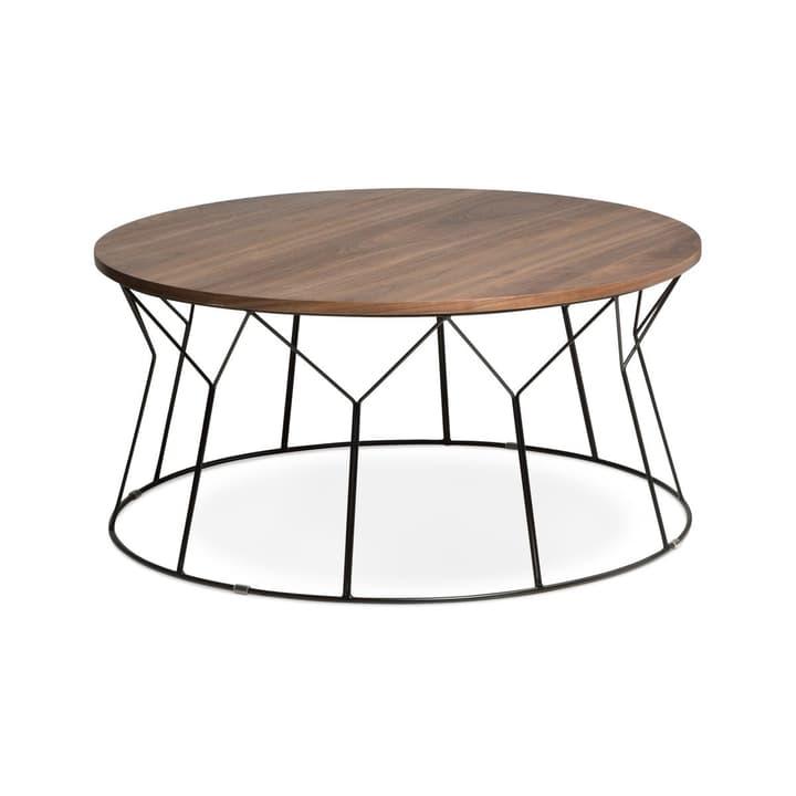 STELLA Table basse Ø 80cm 362088600000 Dimensions H: 38.0 cm Couleur Noyer Photo no. 1