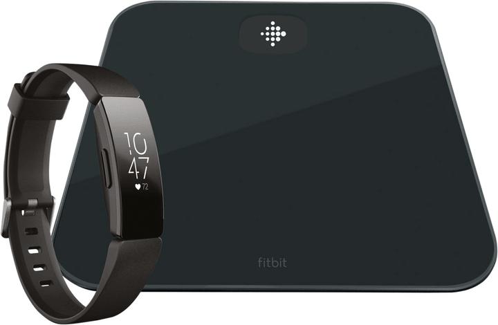 Aria Air & Inspire HR Bundle Noir Smart Waage & Activity Tracker Fitbit 798721800000 Photo no. 1