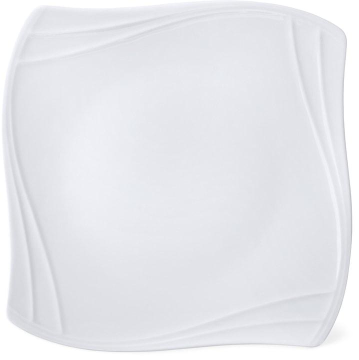 VANITY Teller flach Cucina & Tavola 700158900002 Farbe Weiss Grösse H: 3.1 cm Bild Nr. 1