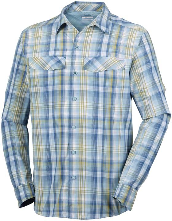 Silver Ridge™ Plaid Long Sleeve Shirt Chemise à manches longues pour homme Columbia 462712100340 Couleur bleu Taille S Photo no. 1
