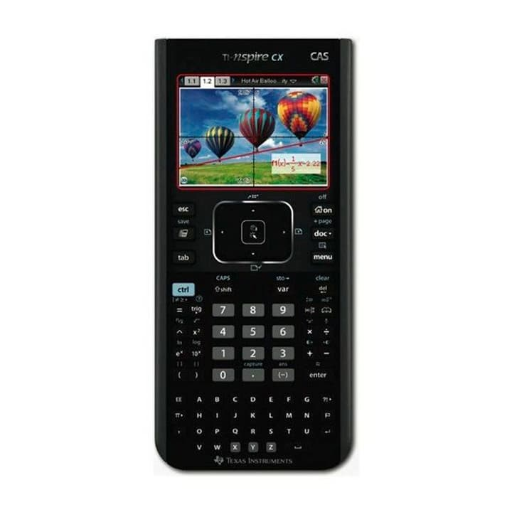 Nspire CX CAS DE/FR Calcolatrice Texas Instruments 785300123155 N. figura 1