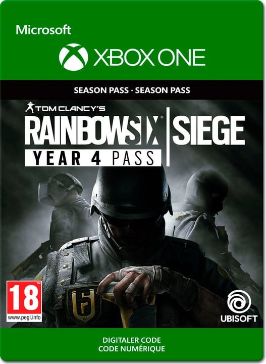 Xbox One - Rainbow Six: Siege - Year 4 Pass Download (ESD) 785300141131 N. figura 1
