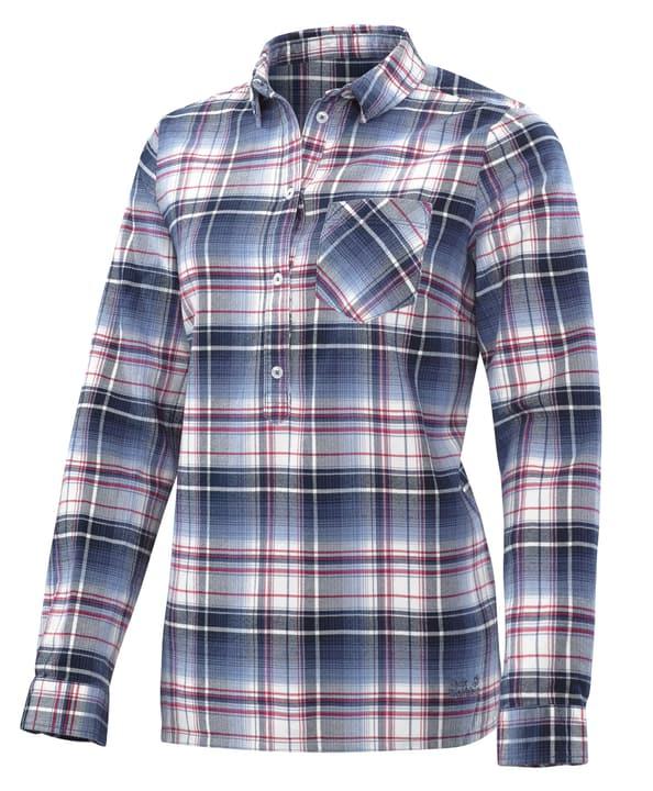Grange Park Blouse à manches longues pour femme Jack Wolfskin 462750400322 Couleur bleu foncé Taille S Photo no. 1