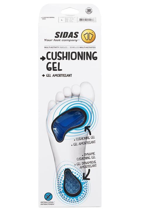 Cushioning Gel Sport Einlegesohle Sidas 461602600310 Farbe weiss Grösse S Bild-Nr. 1