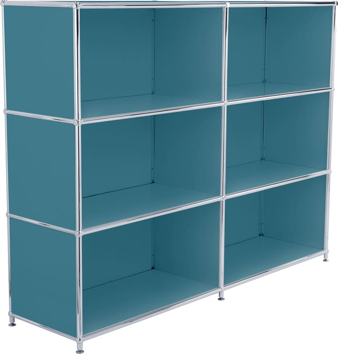 FLEXCUBE Buffet haut 401809200066 Dimensions L: 152.0 cm x P: 40.0 cm x H: 118.0 cm Couleur Pétrole Photo no. 1