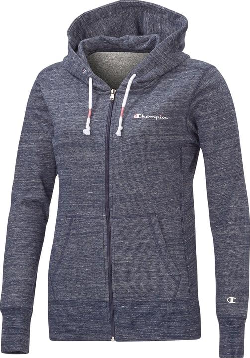 Full Zip Sweatshirt Veste à capuche pour femme Champion 462384000343 Couleur bleu marine Taille S Photo no. 1