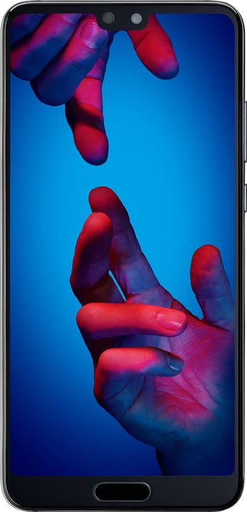 P20 Dual Sim schwarz Smartphone Huawei 794628700000 Bild Nr. 1