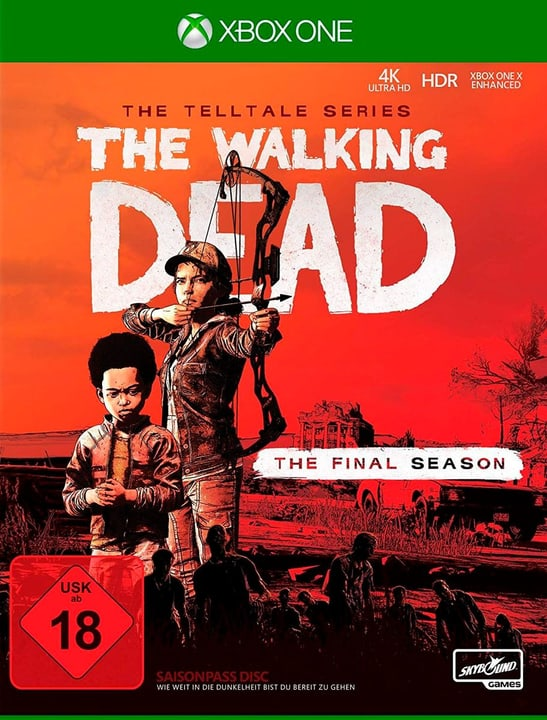 Xbox One - Telltale´s The Walking Dead: The Final Season D Box 785300141720 N. figura 1